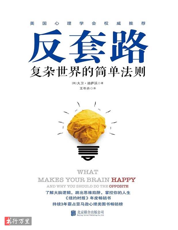 《反套路:复杂世界的简单法则》 大卫·迪萨沃 简体译文pdf电子书  网盘免费下载