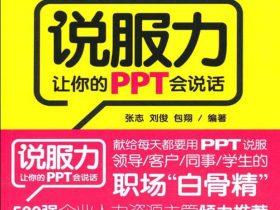 《说服力:让你的PPT会说话》张志_文字版_pdf电子书_网盘免费下载