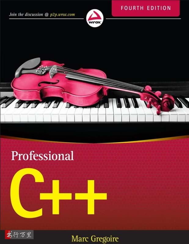 《Professional C++, Fourth Edition》(英文原版专业C++ 第4版)Marc Gregoire文字版PDF电子书_网盘免费下载