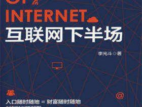 《互联网下半场》李光斗_文字版_pdf电子书_网盘免费下载