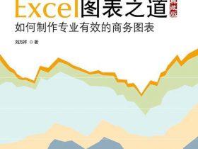《Excel图表之道:如何制作专业有效的商务图表》刘万祥_典藏版_文字版_pdf电子书_网盘免费下载