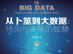 《从卜筮到大数据:预测与决策的智慧》朱书堂 文字版 PDF电子书 网盘免费下载