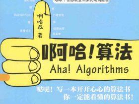 《啊哈!算法》啊哈磊   扫描版 PDF电子书 网盘免费下载