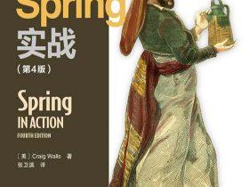《Spring实战》Craig Walls_第4版_文字版_pdf电子书_网盘免费下载