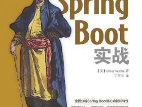《Spring Boot实战》Craig Walls_文字版_pdf电子书_网盘免费下载