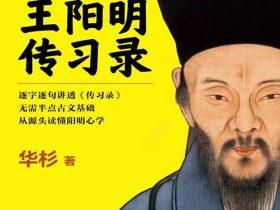 《华杉讲透王阳明〈传习录〉》华杉 文字版 PDF电子书 网盘免费下载