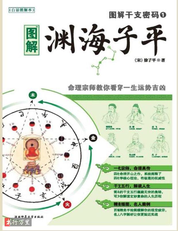 《图解渊海子平》徐子平_收藏版_PDF电子书_免费下载
