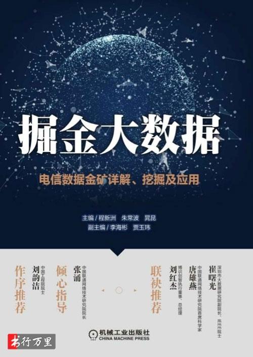 《掘金大数据:电信数据金矿详解、挖掘及应用》程新洲 等_经典版_PDF电子书下载